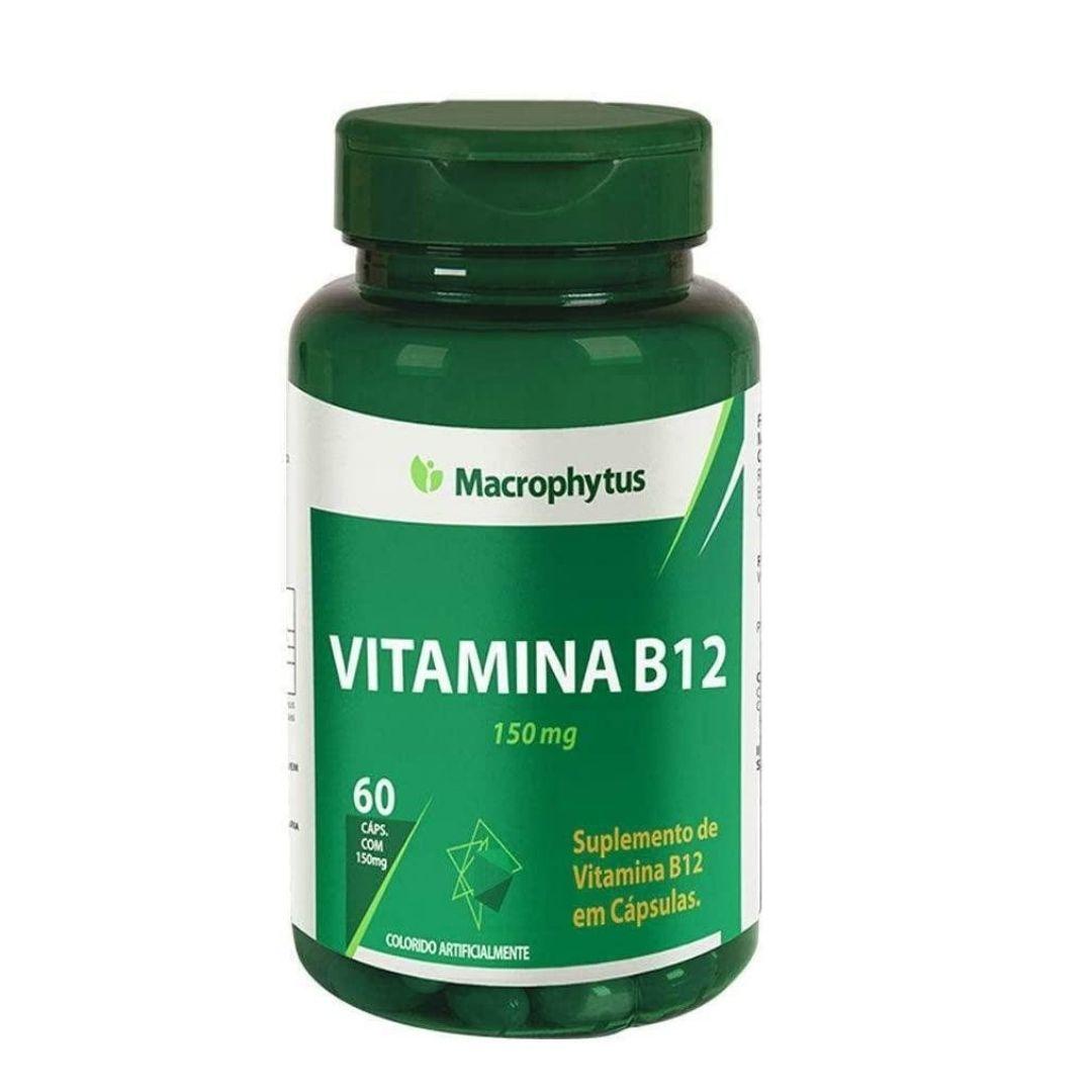 Vitamina B12 Macrophytus 60 Capsulas X 150mg