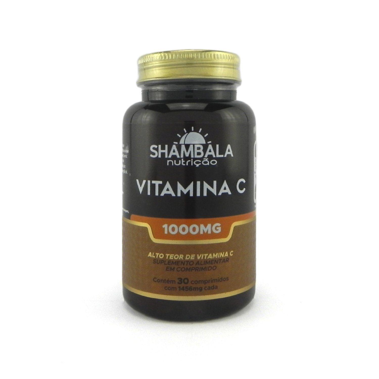 Vitamina C 1000mg Shambala - 30 cápsulas