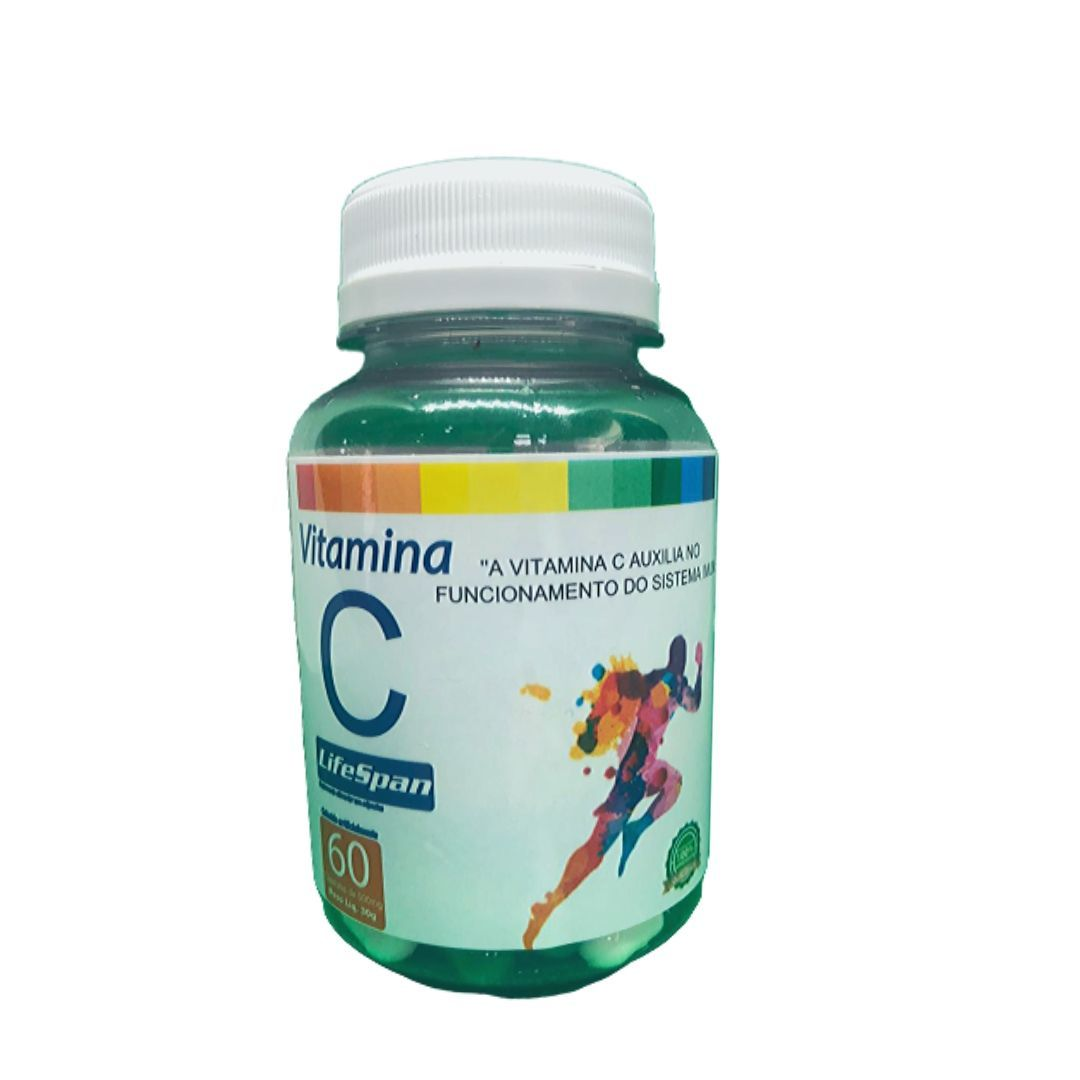 Vitamina C Life Spam 60 Capsulas X 500mg