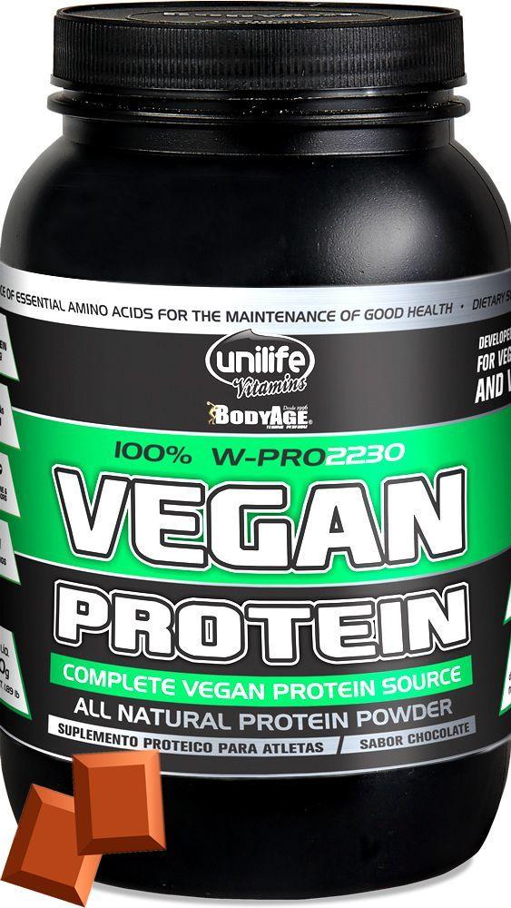 W-Pro Vegan Protein sabor Chocolate Unilife 900g