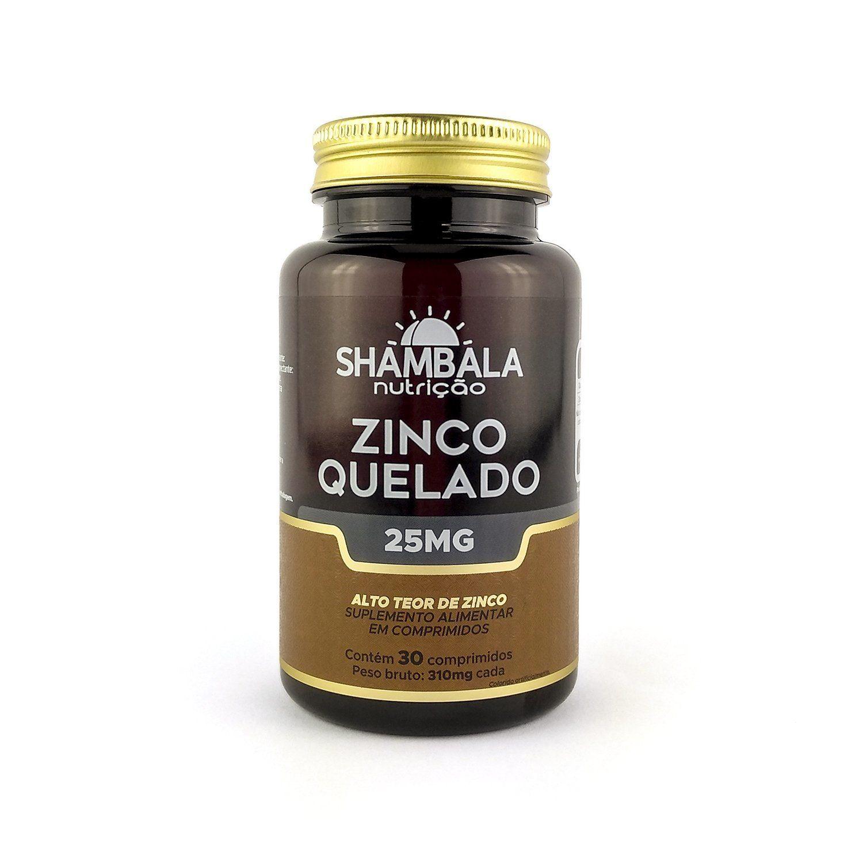 Zinco quelado Shambala 25mg - 30 cápsulas