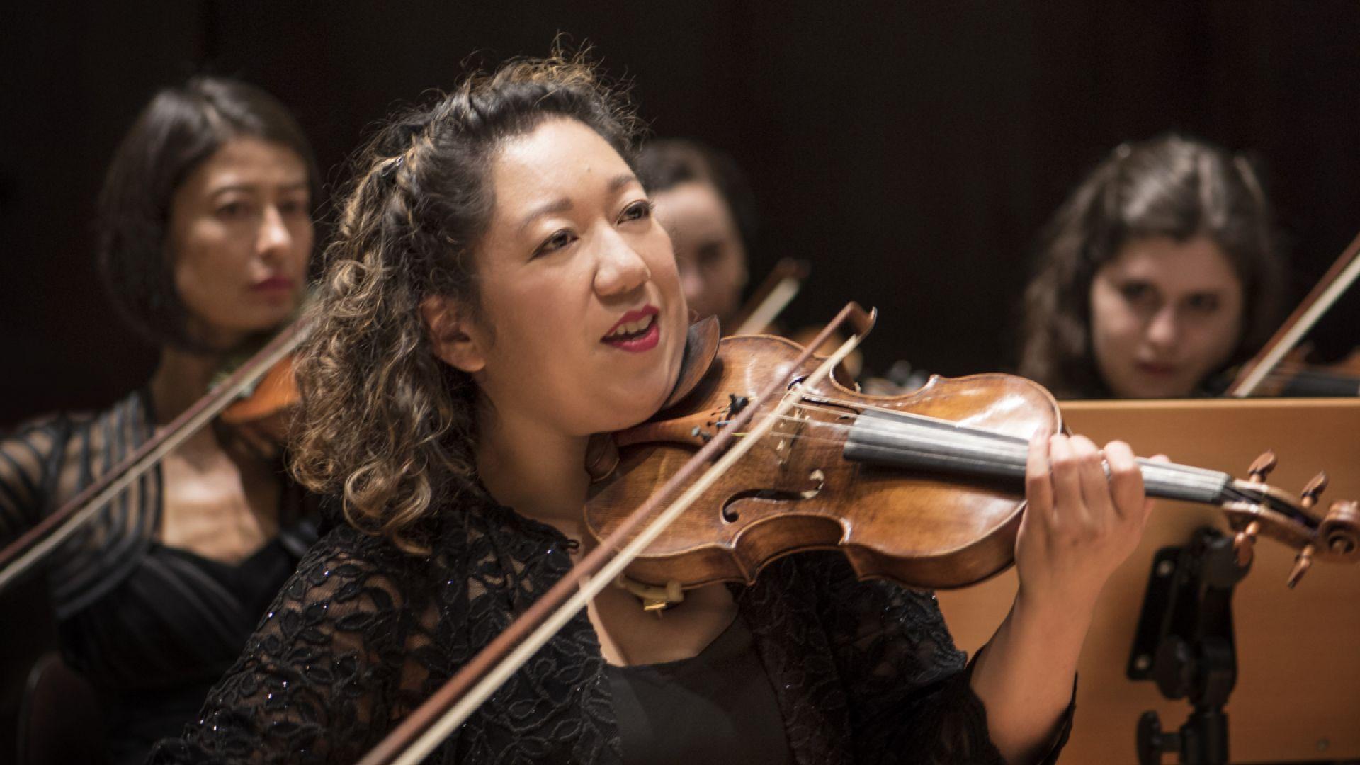 Violins credit Neda Navaee