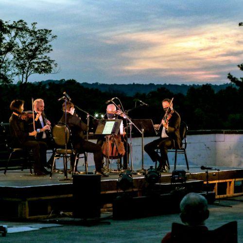 Brahms Clarinet Quintet at Morris Museum credit Jack Grassa