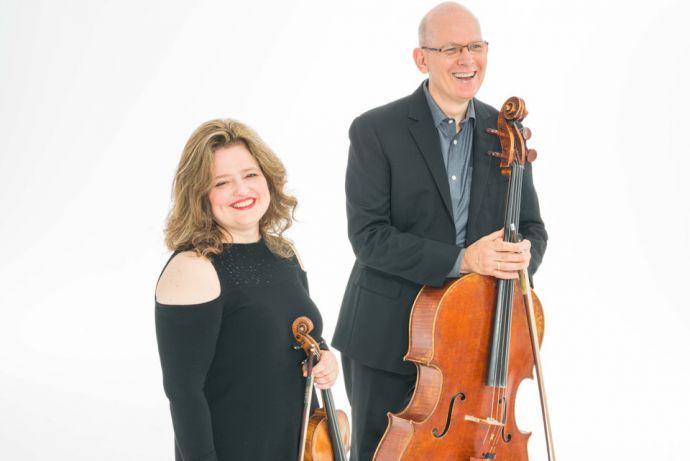 Renee Jolles and Jonathan Spitz credit Matt Dine