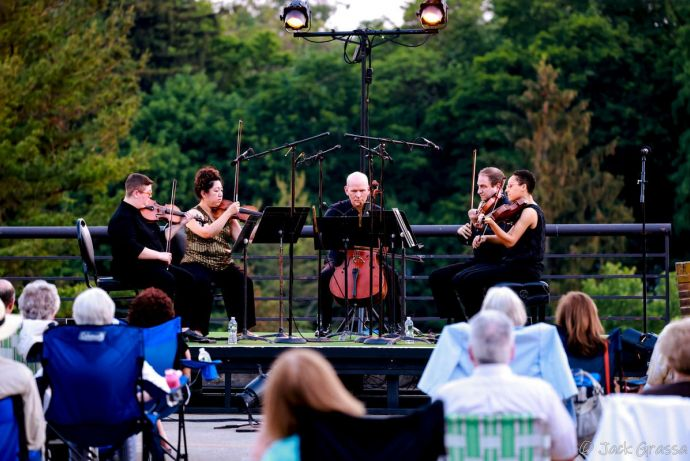 String quintet at morris museum