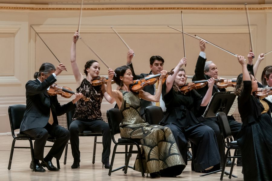Carnegie Hall violins credit Fadi Kheir