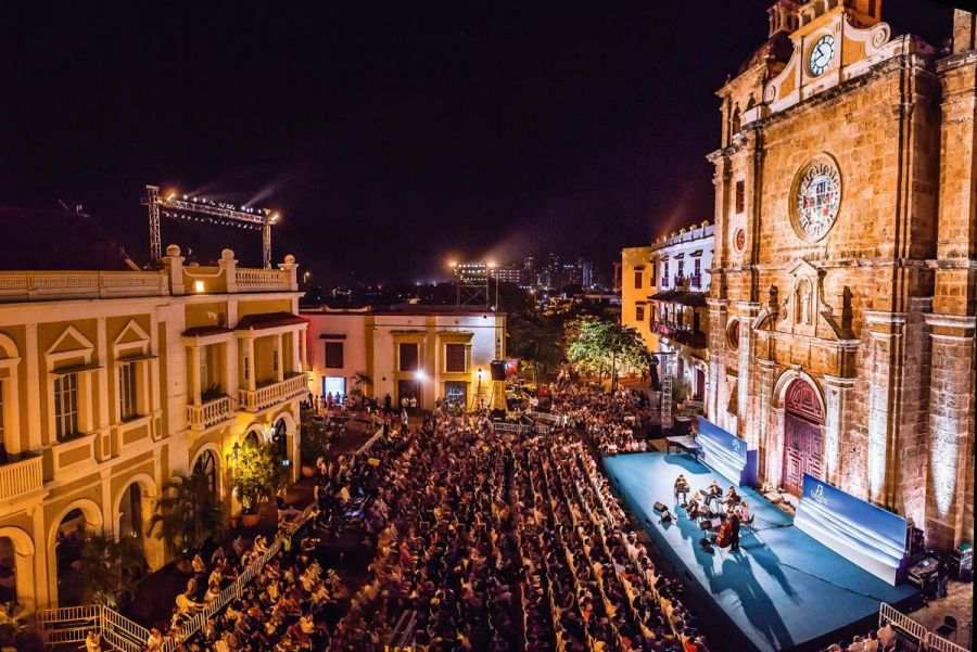 Cartagena international music festival
