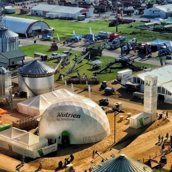 Farm Progress Show Aerial