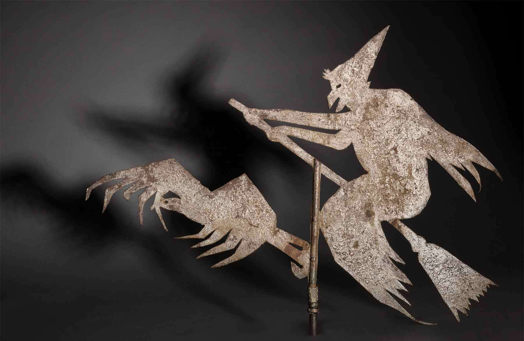 Artist in United States, Witch weathervane, about 1900.
