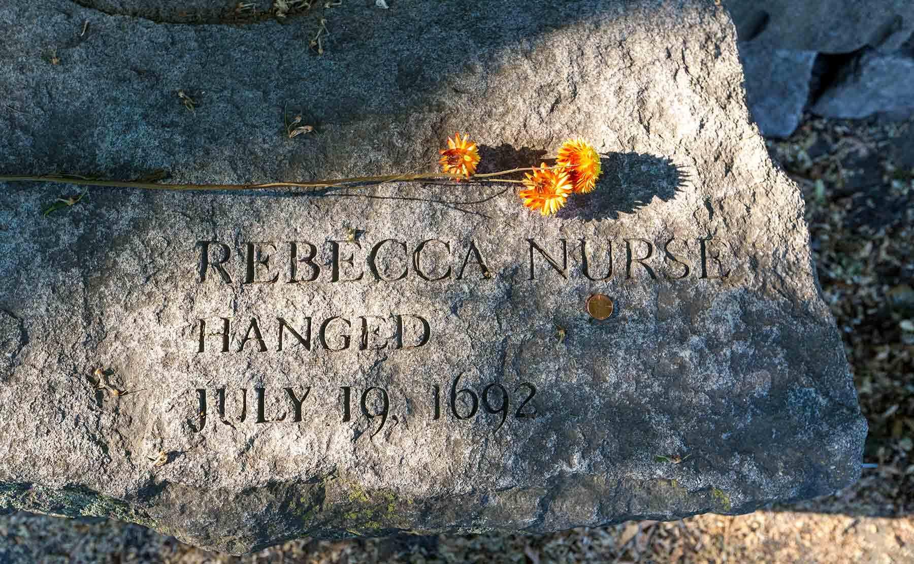 Salem Witch Memorial. Photo by Kathy Tarantola/PEM