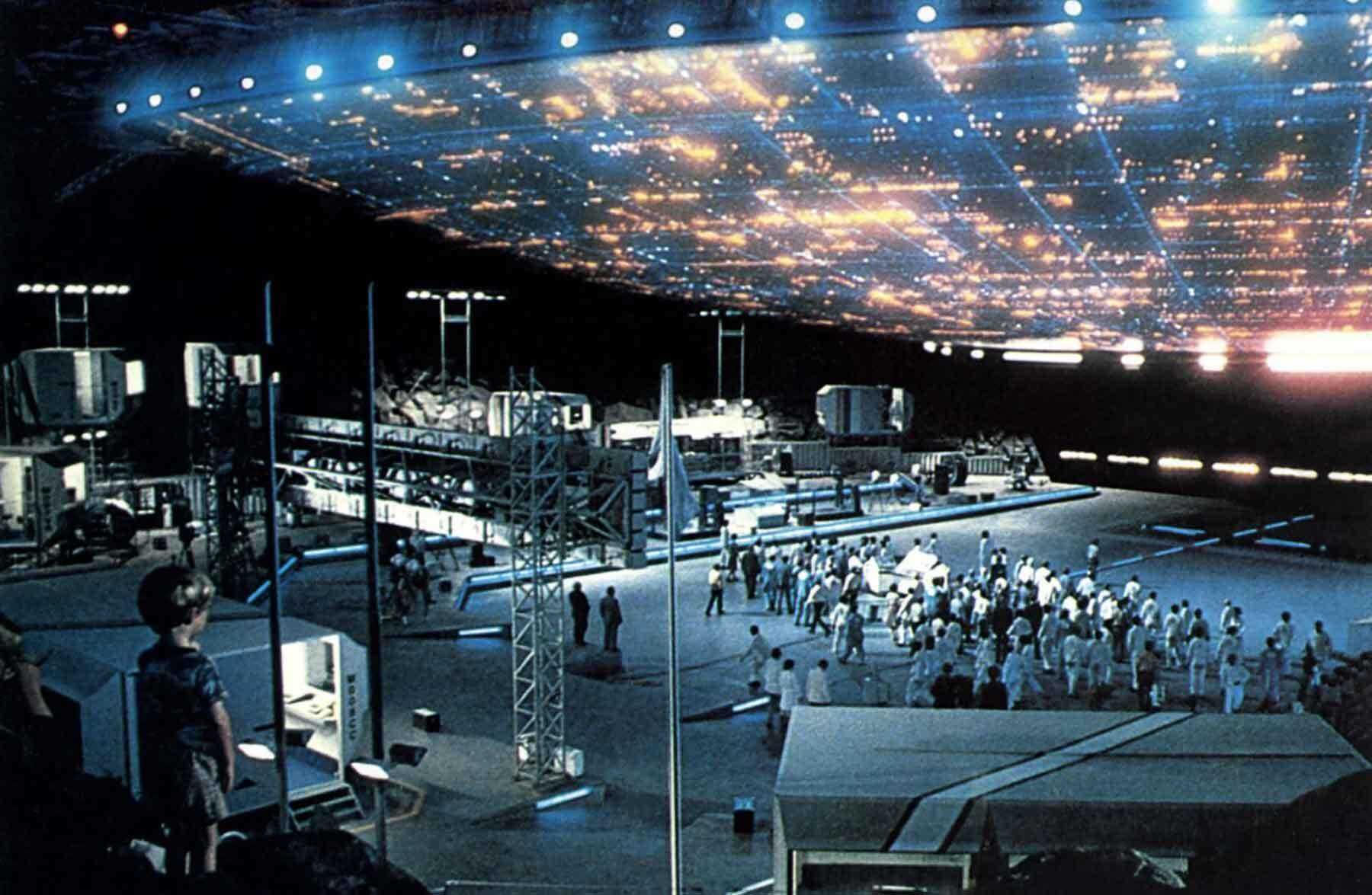 Still from Close Encounters of the Third Kind, 1977. Courtesy of Colombia/EMI film/Alamy
