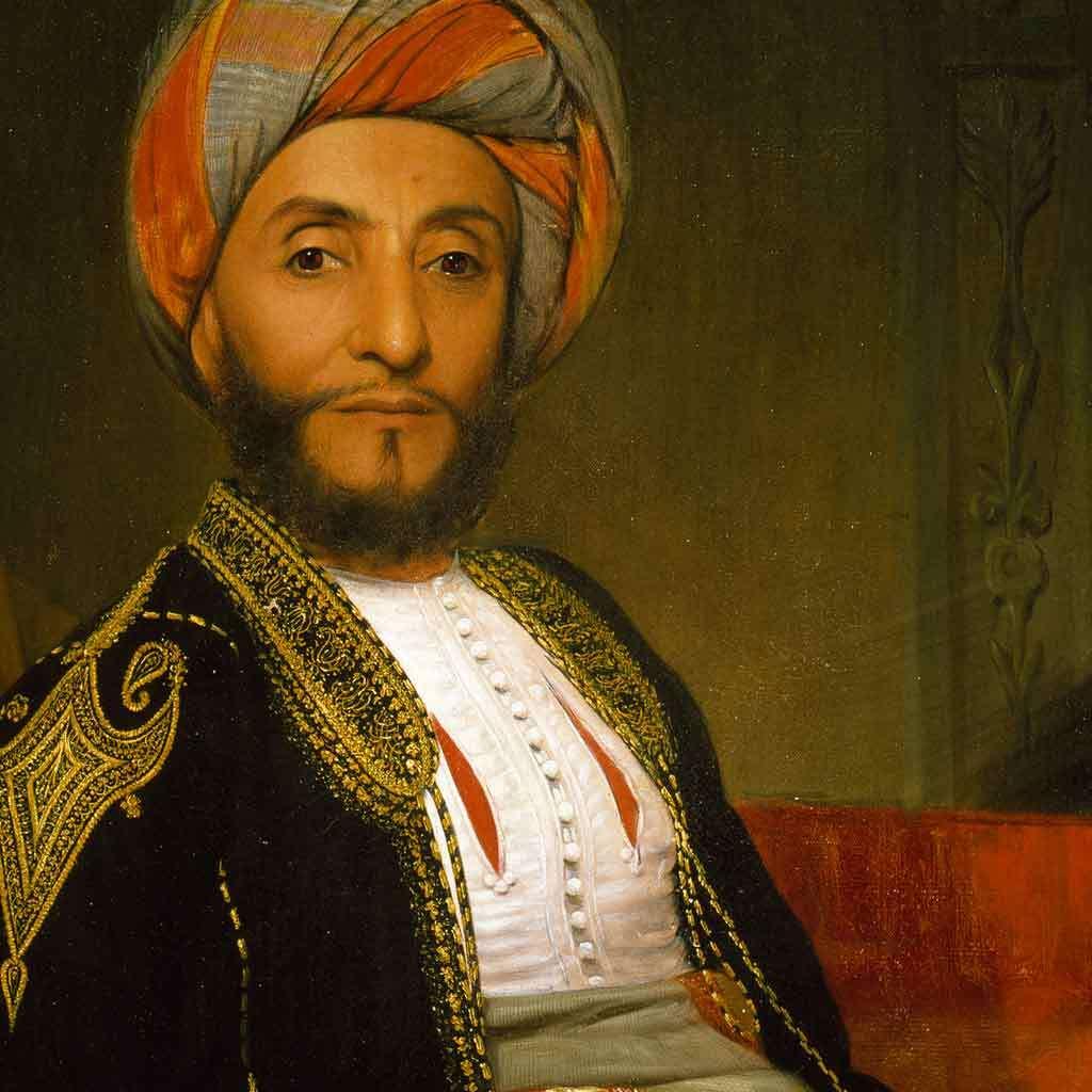 Portrait of Ahmad bin Na'aman