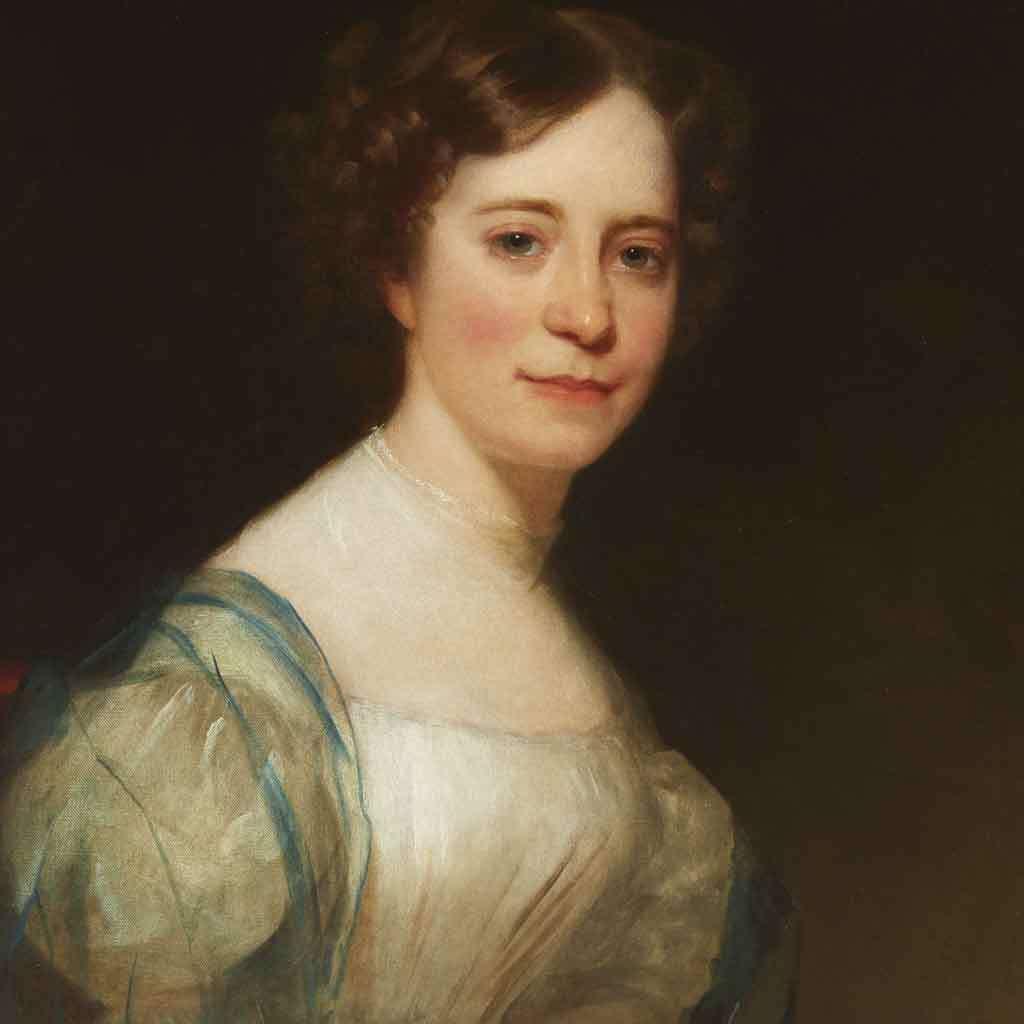 Portrait of Sophia Peabody, 1830