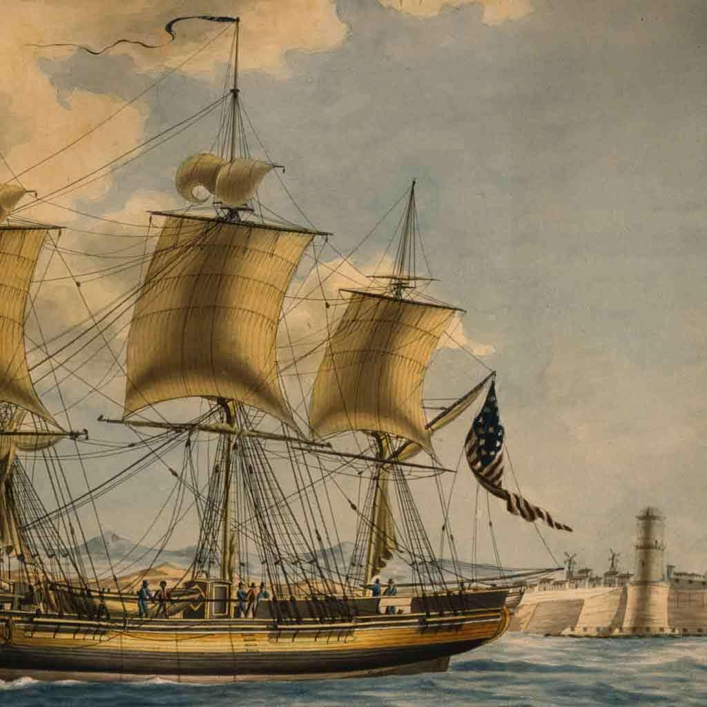 Ship Alfred of Salem Cap Joseph Felt, 1806