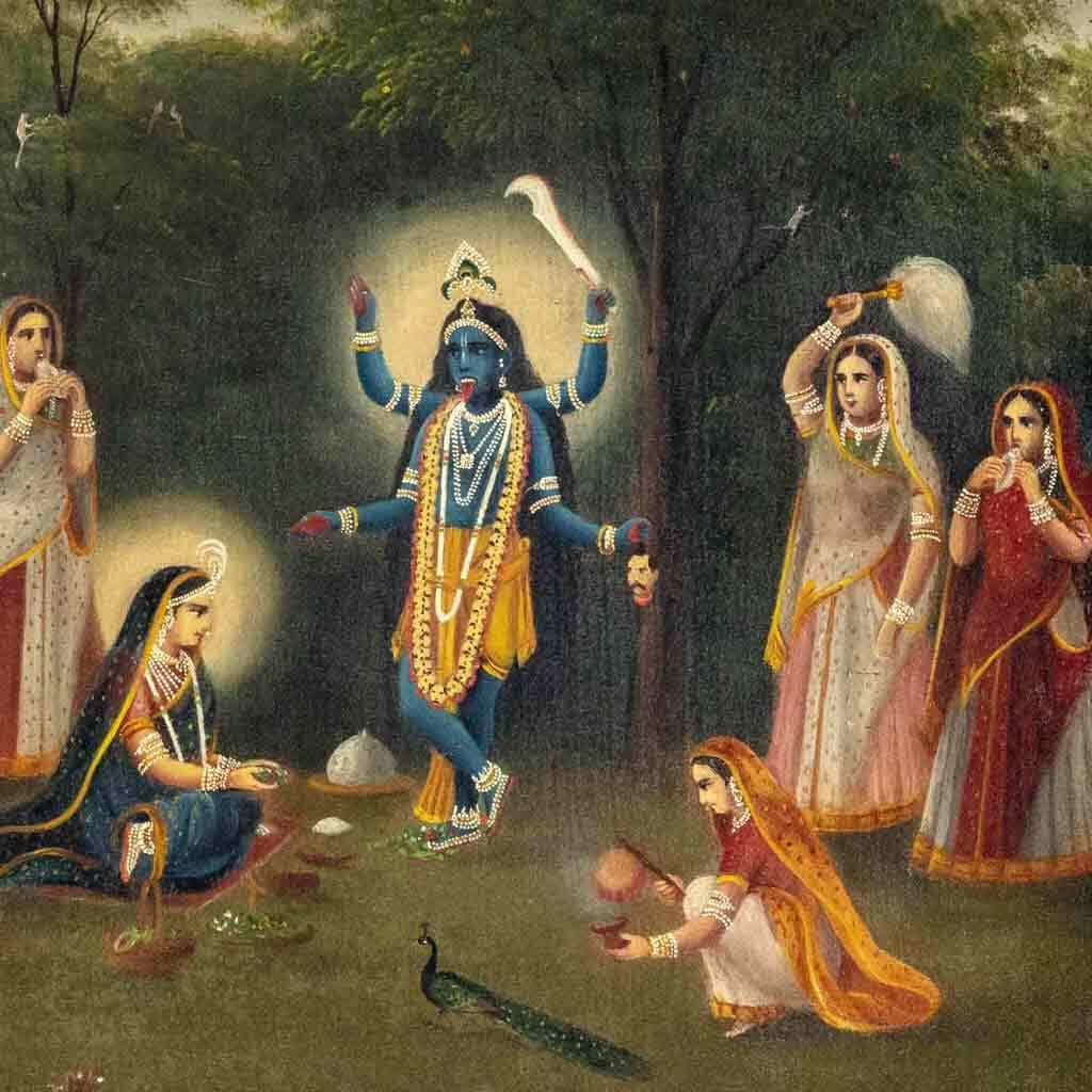 Krishna Kali, about 1895