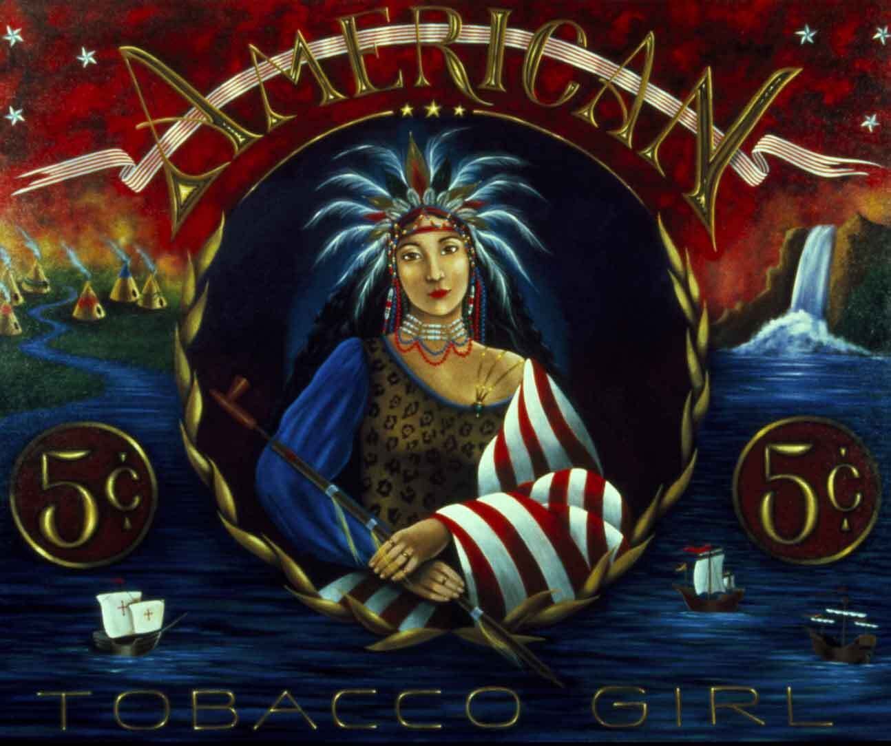 American Tobacco Girl