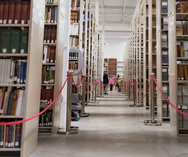 Exploring new acquisitions at Phillips Library