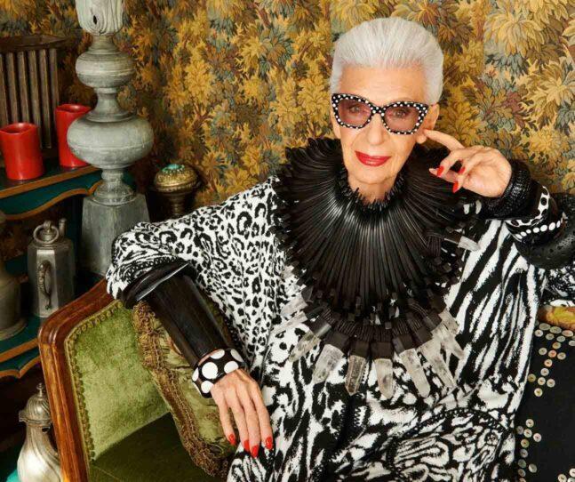 A Century of Style: Fashion icon Iris Apfel at 100