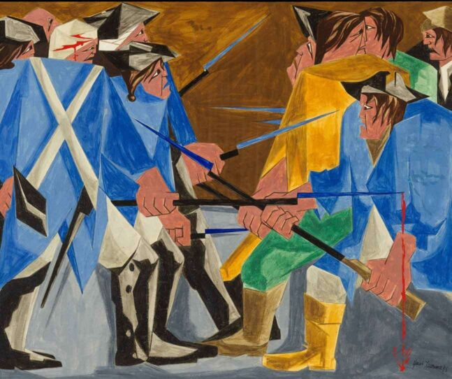Lawrence exhibition leads to discovery of a lost work
