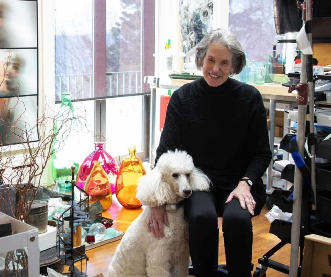 Libby Parker studio visit