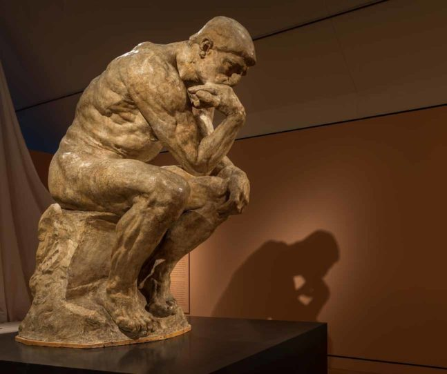 Thinking about 'The Thinker'