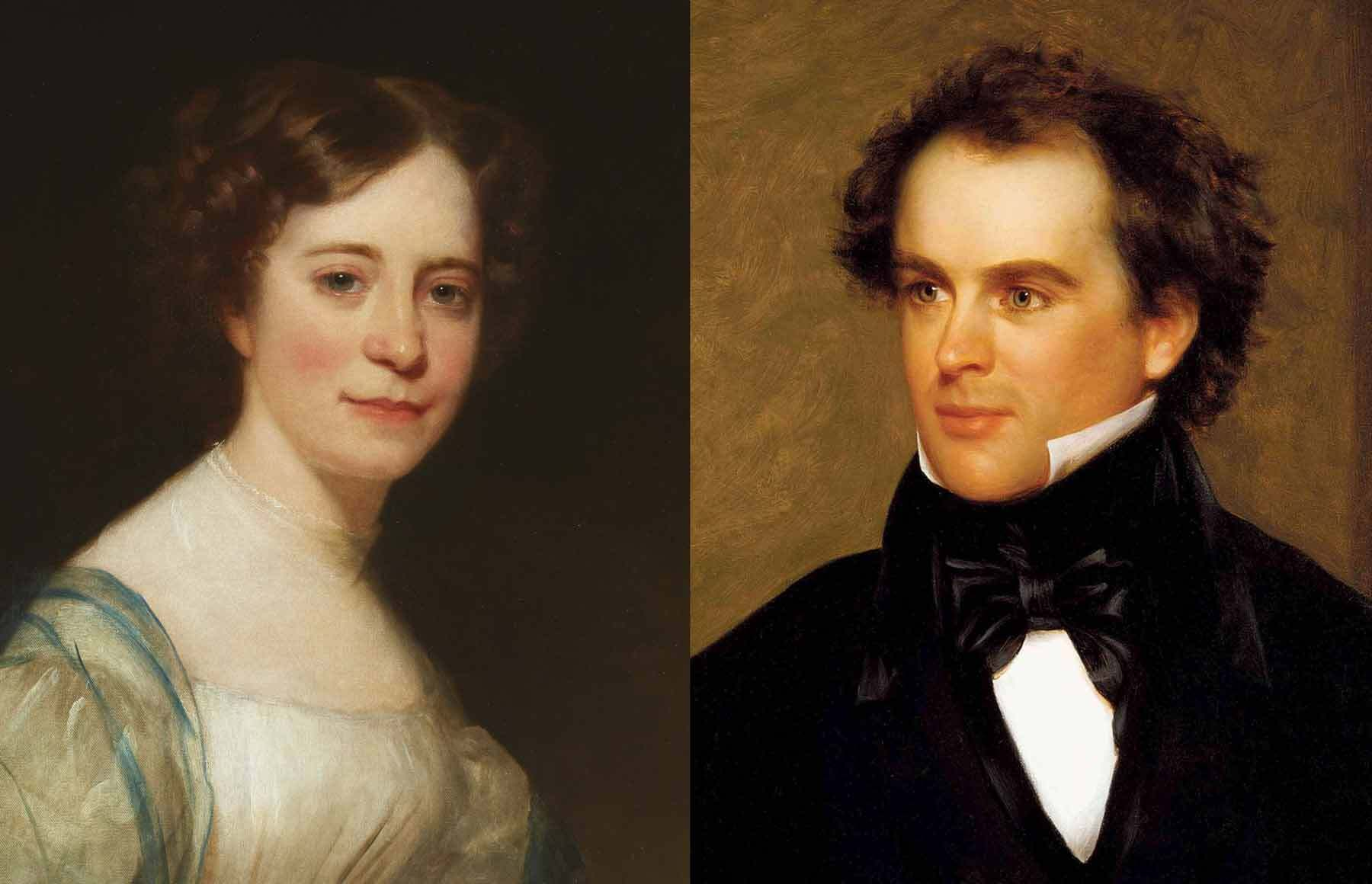 Sophia Peabody and Nathaniel Hawthorne