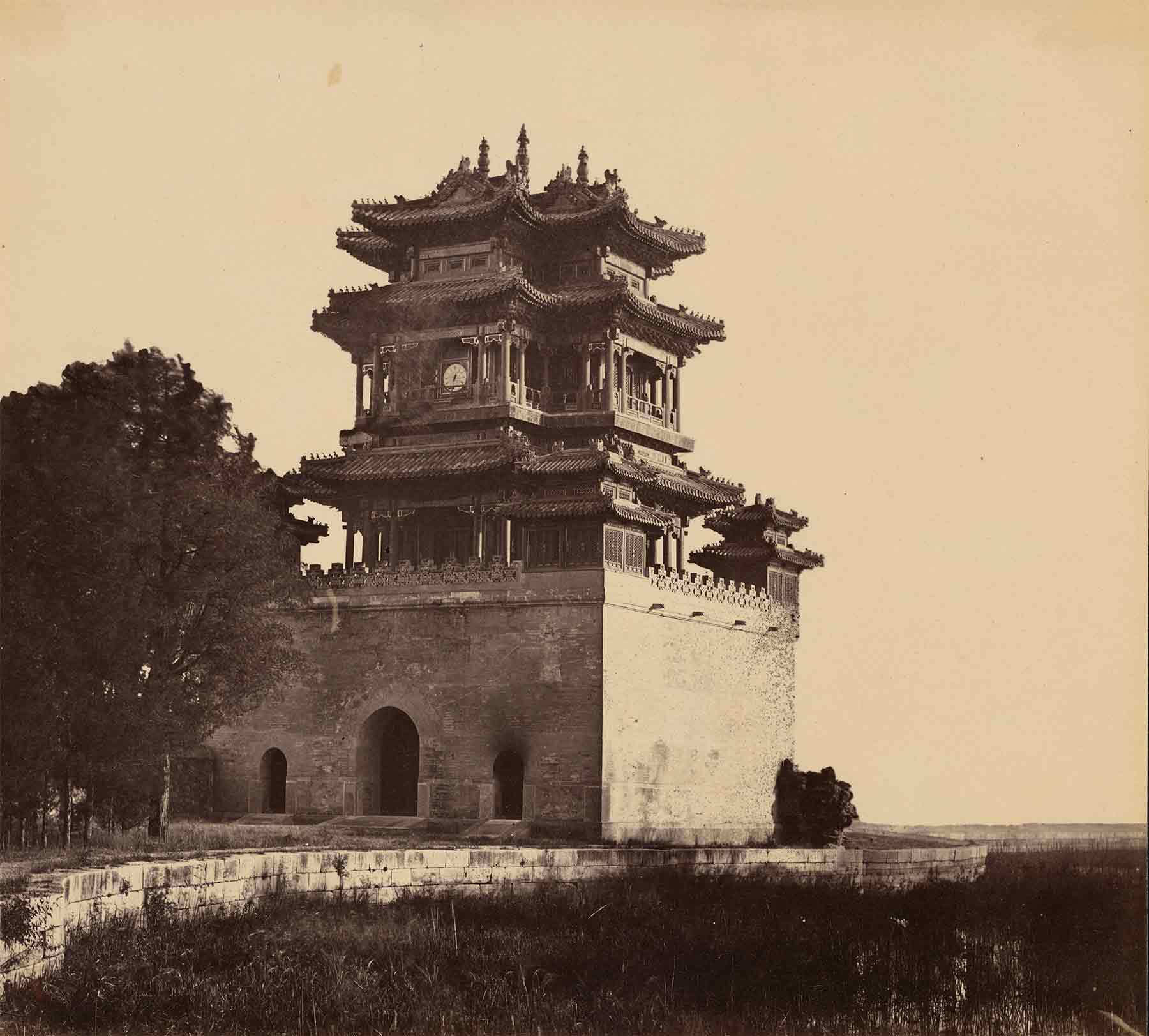 Early Photograph of Chima building