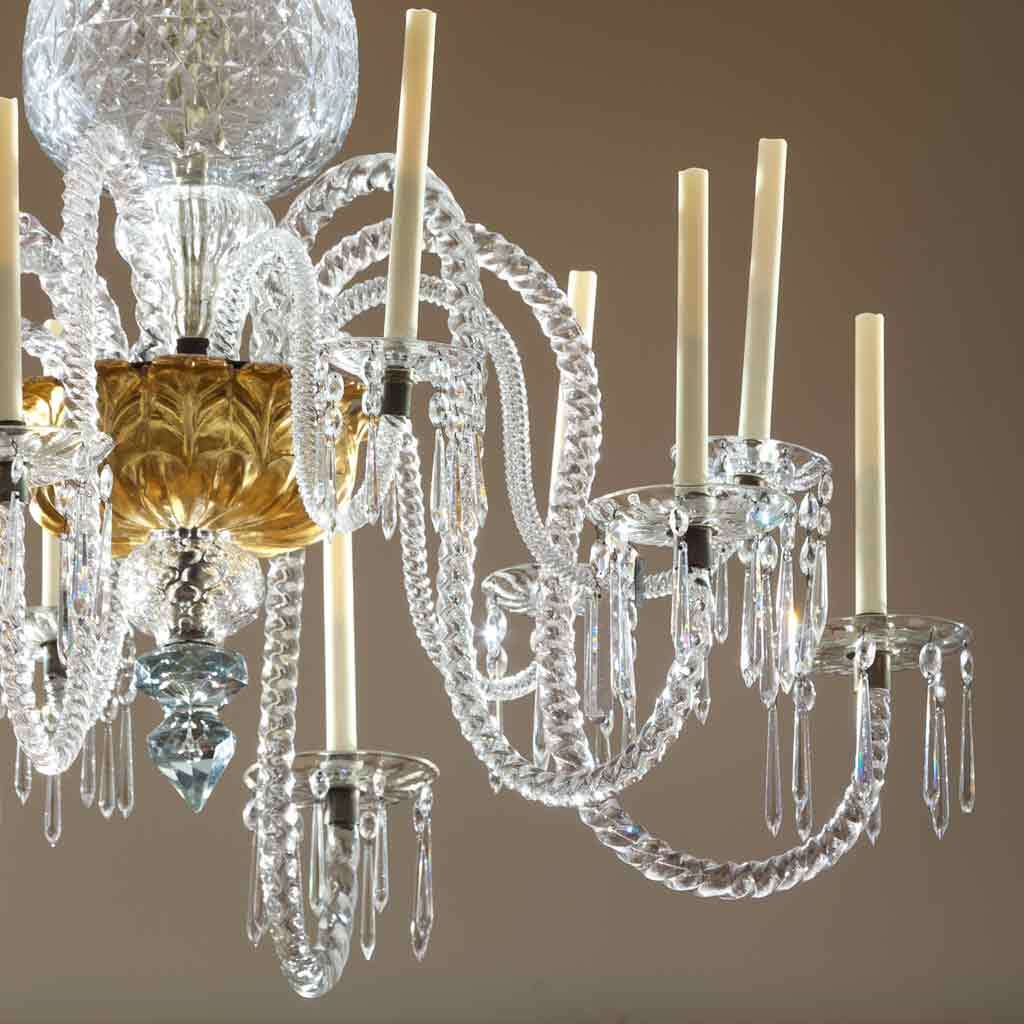 Chandelier for East India Marine Hall, mid-1700s