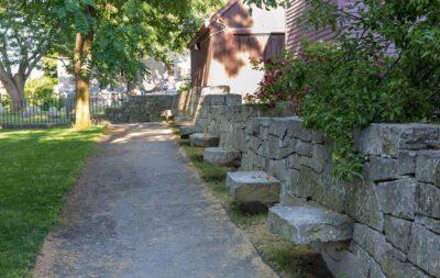 Salem Witch Trial Memorial.