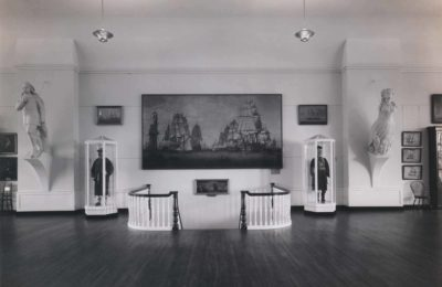 The (now) Diane M. and Walter C. Meibaum, III Staircase circa 1943.