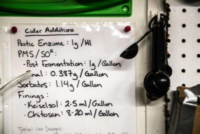 fermenting notes