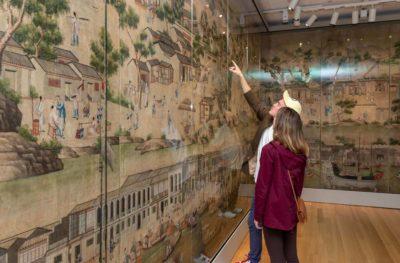 visitors in aea gallery