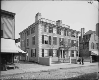 """Timothy Orne House, Salem,"" Cousins collection, on Digital Commonwealth."