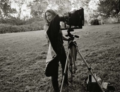 SR. Kim Rushing, Sally with camera (c. 1998)