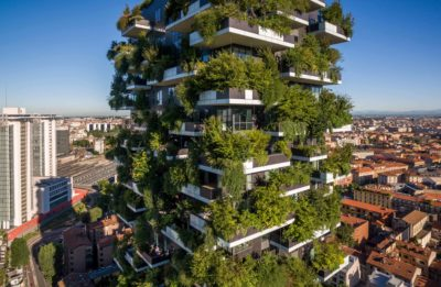 Stefano Boeri Architects, Italy, Bosco Verticale (Vertical Forest), Milan, Italy, 2009–2014
