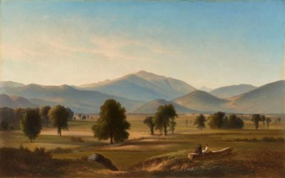 Benjamin Champney, Peace and Harmony, Mount Washington from the Intervale, North Conway