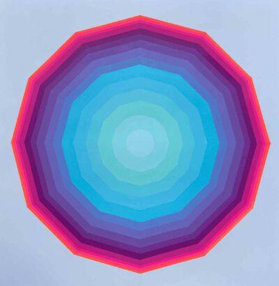 Zarah Hussain, Air I, 2020. Acrylic on cotton paper. Photo by Zarah Hussain.