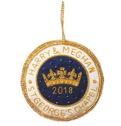 Queen Elizabeth's Diamond Jubilee Harry & Meghan ornament