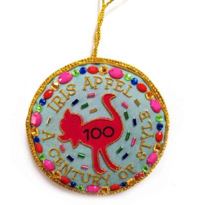 The century of style Iris Apfel ornament