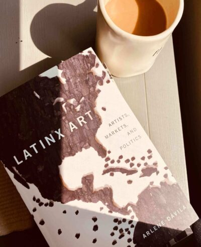 A detail of Teresita Fernández's 'Island Universe' (2018) is featured on the cover of the book written by Arlene Dávila, Professor of Anthropology and American Studies at NYU.