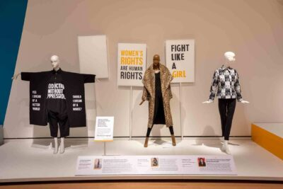 Made It: The Women Who Revolutionized Fashion, Exhibition Documentation. © 2020 Peabody Essex Museum. Photography by Kathy Tarantola