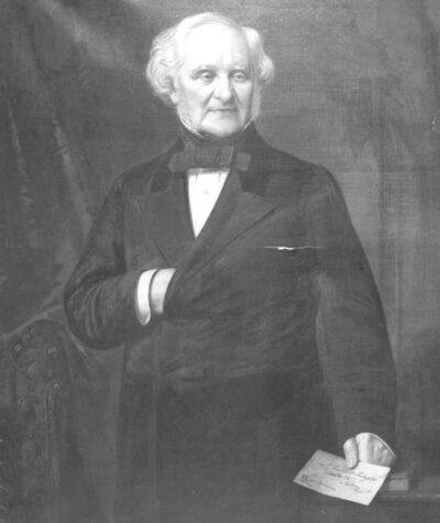 A. Bertram Schell, Portrait of George Peabody, 1869, gift of the Estate of S. Endicott Peabody, 1912.