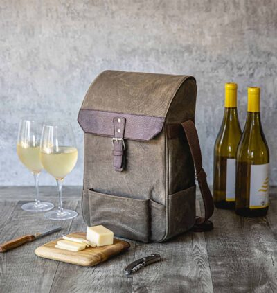 Wine and Cheese Crossbody Cooler