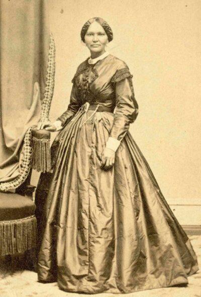 Elizabeth Keckley, about 1861.