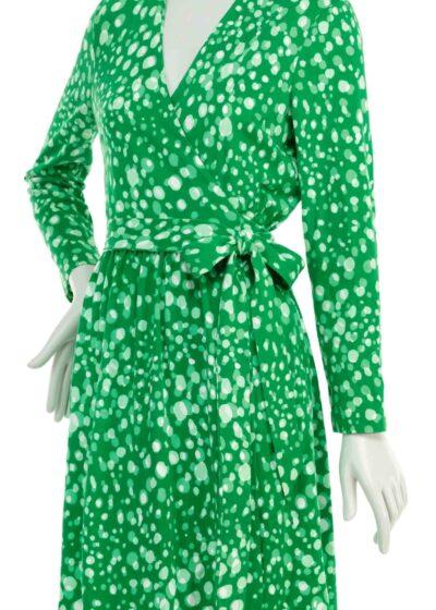 Diane von Furstenberg, wrap dress, 1975