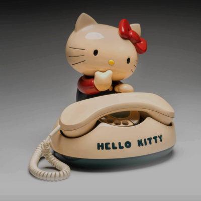 Sanrio Company, Ltd., Hello Kitty rotary telephone, 1980s
