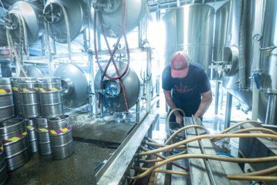Cape Ann brewing room
