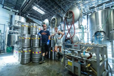 Cape Ann brewing process