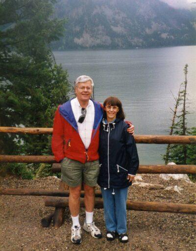 Harvey and his wife Harvey-Ann. Photo courtesy of Harvey Ross.