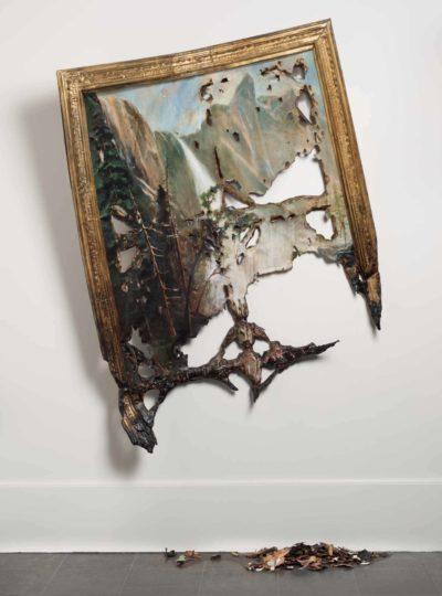 Valerie Hegarty, American, born 1967, Fallen Bierstadt, 2007